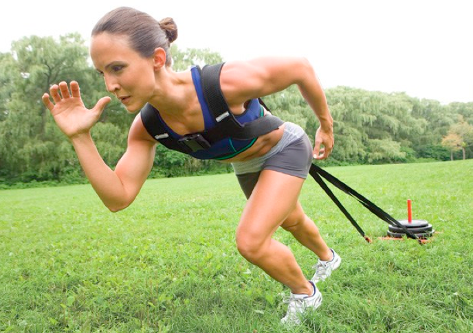 explosive power play sled training builds power and strength